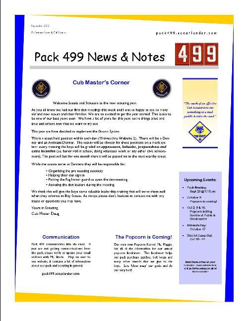 public news cub scout pack 499 port st lucie florida. Black Bedroom Furniture Sets. Home Design Ideas